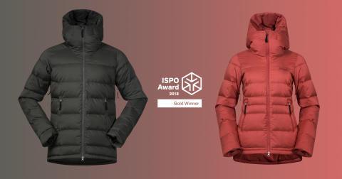 Bergans Stranda Down Hybrid Jacket is proclaimed: Gold Winner in ISPO Awards 2018