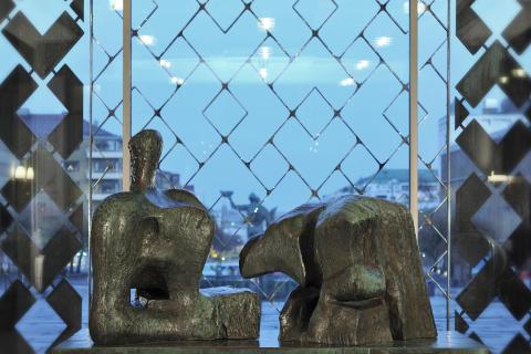 Skulpturen av Moore flyttar från Slottsskogen till Göteborgs konstmuseum