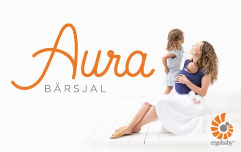NYHET: Aura bärsjal från Ergobaby, perfekt för nybörjare