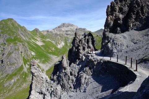 Davoser Höhenweg im Sommer