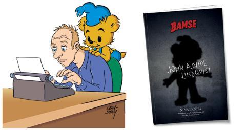 Bamse tolkas av skräckförfattaren John Ajvide Lindqvist