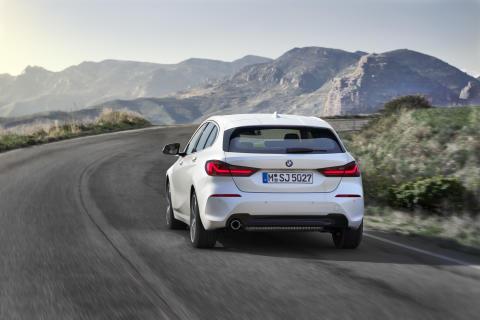 Den nya BMW 1-serien