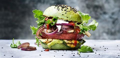 Ny opfindelse: Saftig burger med kødduft  - men uden kød!