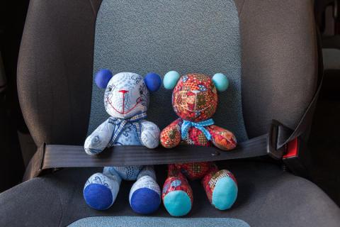 Så reser barnen tryggt i bilen
