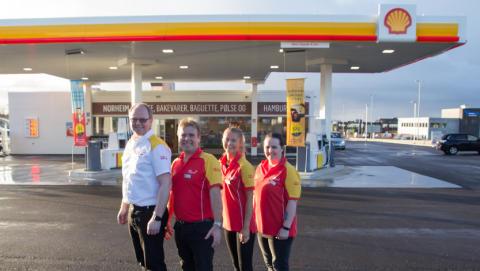 Velkommen til åpning av Shell Norheim