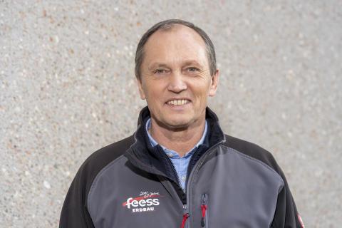 Walter Feeß, Geschäftsführer der Heinrich Feeß Gmbh & Co. KG