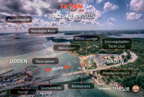 Tjörn Runt by COWI seglar medsols och Stenungsunds Segelsällskap etablerar nytt Race Center