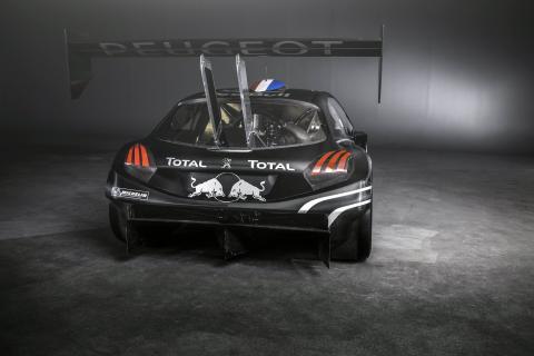 Peugeot 208 T16 som Sébastien Loeb ska köra den 30 juni i Pikes Peak-loppet