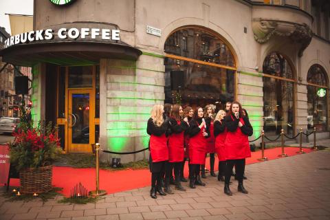 Nu öppnar Starbucks i centrala Stockholm