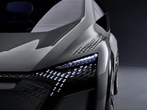 Audi-premiärer på bilsalongen i Shanghai
