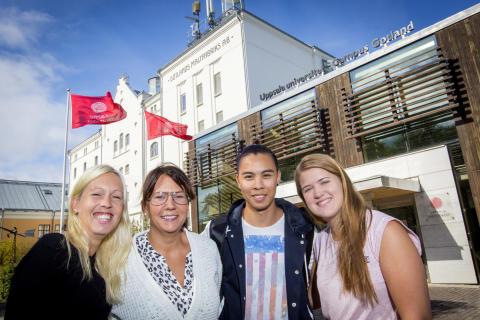 Nya universitetsstudenter får en försmak av Gotland