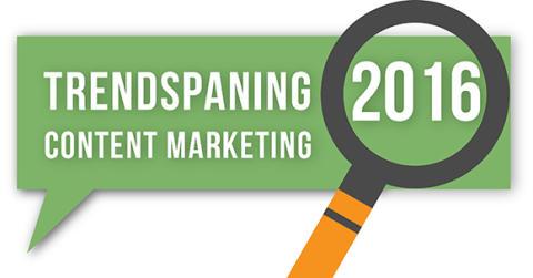 Tre trender inom content marketing 2016