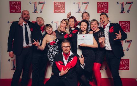 Visma Solutions on jälleen yksi Suomen parhaista työpaikoista