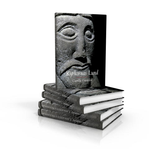 Kyrkornas Lund - hög med böcker