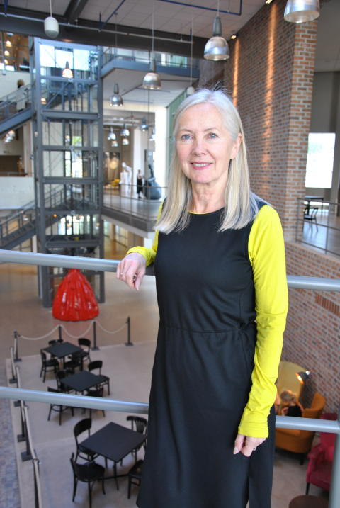 Clare Johnston, Professor and head of the Textiles programme, the Royal College of Art, London