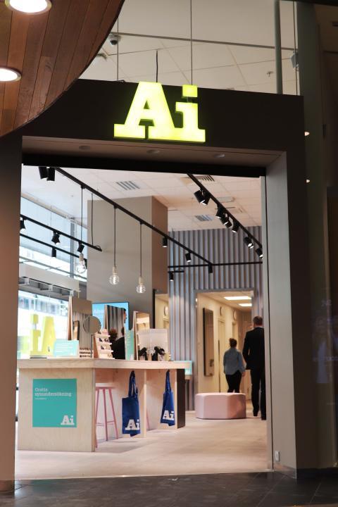 Södertälje Centrum uppgraderas - succékonceptet Ai Eyewear öppnar butik