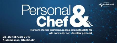 TNG medverkar på mässan Personal & Chef 2017