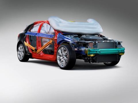 Volvo Personvagnars krockkudde för fotgängare - så fungerar den