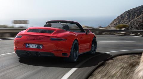911 Carrera 4 GTS Cabriolet