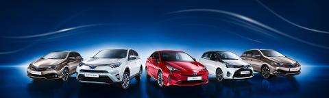 Toyota Motor Europe solgte nær en halv million selvladende hybrid-elektriske biler i 2018