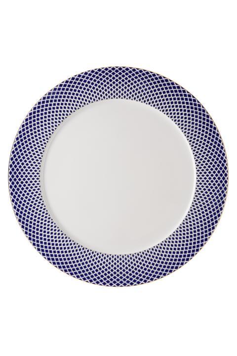 R_Francis_Carreau Bleu_Service plate 33 cm