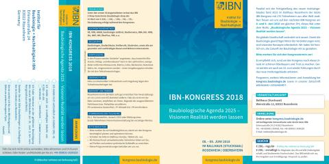 Flyer zum IBN-Kongress 2018