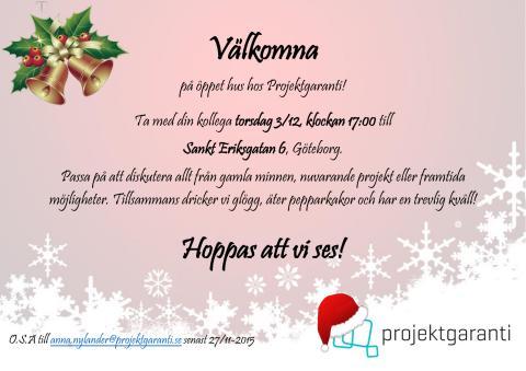 Glöggmingel i Göteborg den 3 december