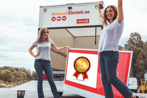 Circle K har landets starkaste varumärke inom biluthyrning – för tredje året i rad