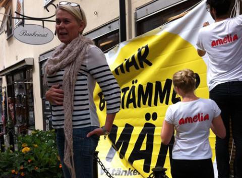 amelia kräver fler kvinnor i styrelserna