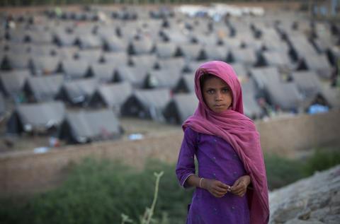 Barnen i Pakistan är fortfarande i akut behov av hjälp