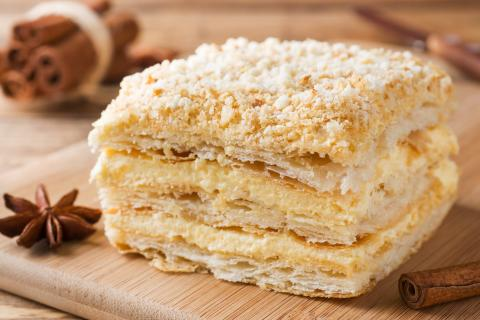 Mille-feuille pastry image