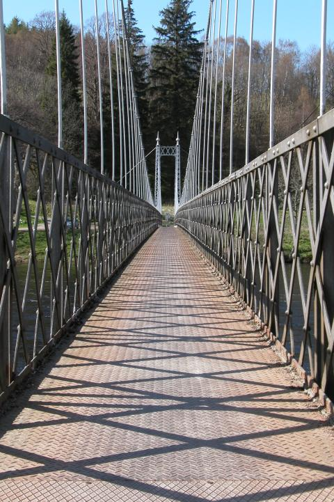 Moray Footbridge over the Spey