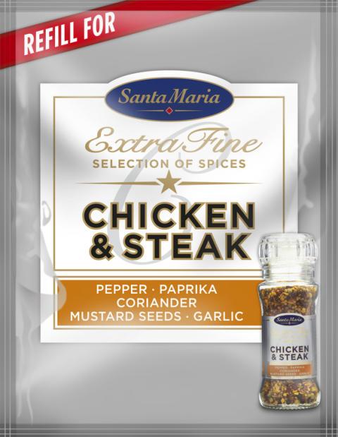 Refill Chicken & Steak