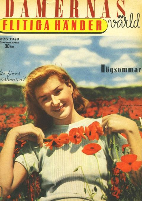 Damernas Värld omslag 1940