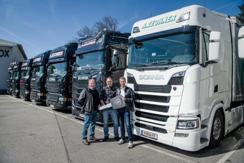 Rundum-sorglos mit Scania und Wiegele Trucks