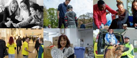 Tre miljoner svenskar firas på Frivilligdagen den 5 december