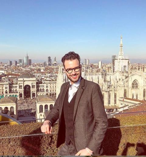 Ein Blick über Mailand lohnt sich immer.