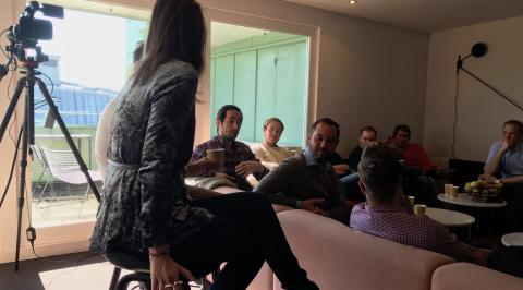 Toksuccé för vår blockchain-weekend