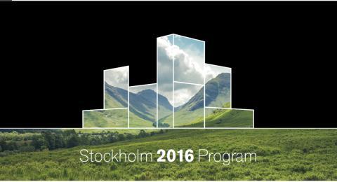Program for møbelmessen i Stockholm