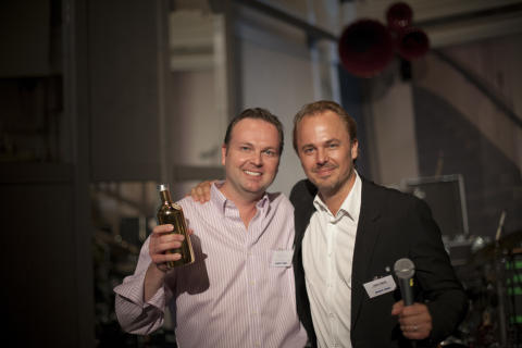 Jesper Krejsbol and Jonas Tåhlin, Vice President Global Marketing, The Absolut Company