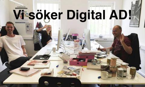 Vi söker digital Art Director