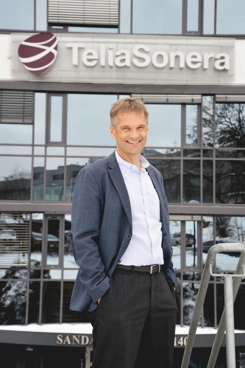Abraham Foss ny administrerende direktør TeliaSonera Norge
