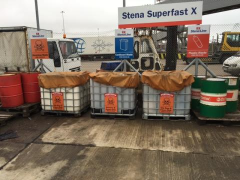 Stena Line port achieves zero landfill target