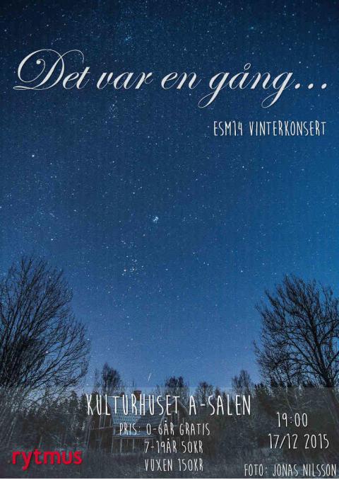 Vinterkonsert i Örebro