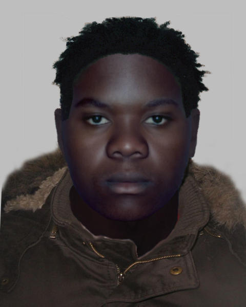 E-fit issued by detectives after man stabbed for Rolex watch in Kensington