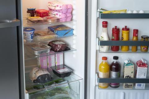 Ryddig kjøleskap reduserer matavfallet