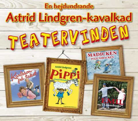 """Spelperioden förlängs med extraföreställningar på Astrid Lindgren-kavalkaden """"Teatervinden"""" i jul på Liseberg!"""