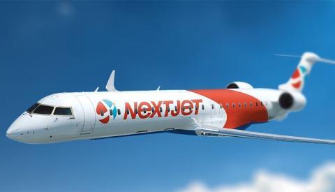 Nextjet öppnar ny linje mellan Göteborg och Umeå