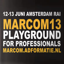Place & City Branding in Focus at Major Dutch Event MARCOM 13 in Amsterdam Next Week