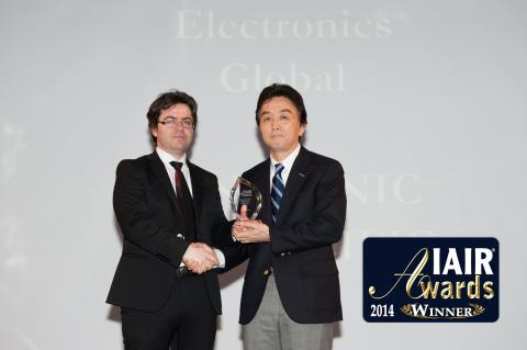 Panasonic Asia Pacific Awarded Best Global Electronics Company for Sustainability by IAIR